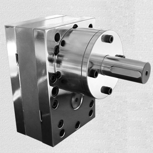 Spinning gear pump
